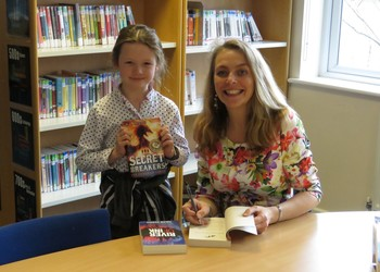 Pupils turn code breakers for World Book Day