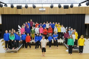 Year 7 cast of the jungle book large