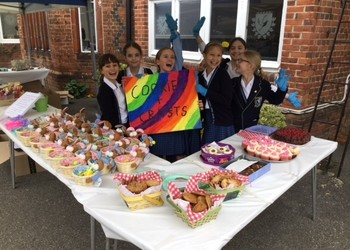 Pupils' charity Easter craft and bake sale raises hundreds of pounds