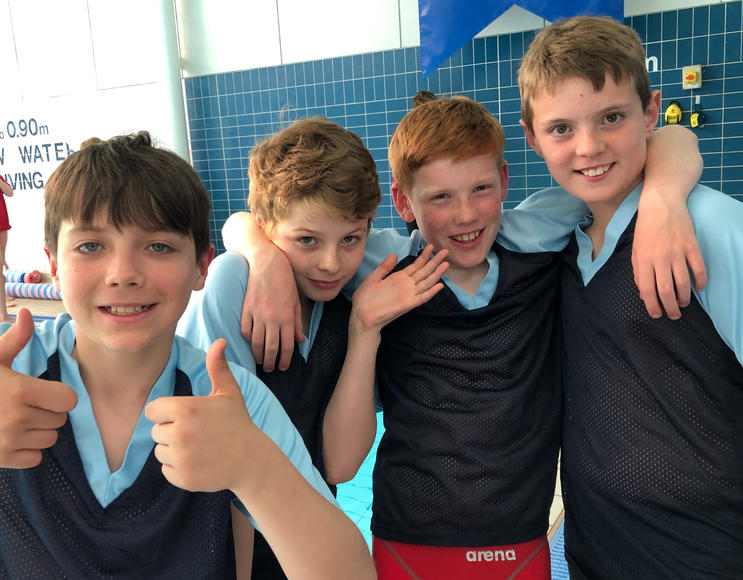 Swimming U11 Boys Relay