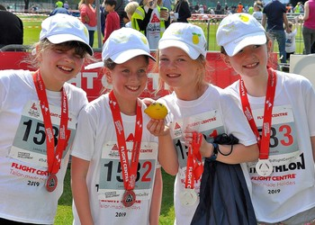 Pupils raise over £8,000 for charity in Schools Triathlon