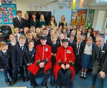 Year 3 and Chelsea Pensioners