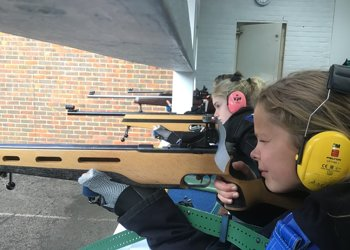 Success in our first home fixture on the new 25 yard Shooting Range