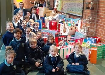 Feltonfleet gives the gift of Christmas for Elmbridge children in need