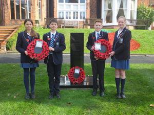 Heads of School at memorial