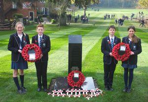 Heads of School at the Feltonfleet memorial