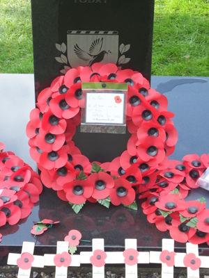 Memorial wreath 2020