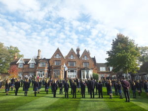 Upper School and staff paid their respects to the Feltonfleet Fallen