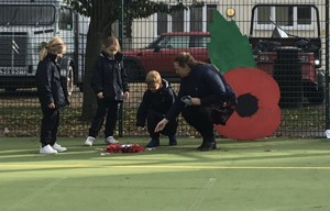 Pre-Prep laid their own wreaths to remember the Fallen ii