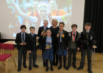 Endurance athlete inspires our Upper School pupils