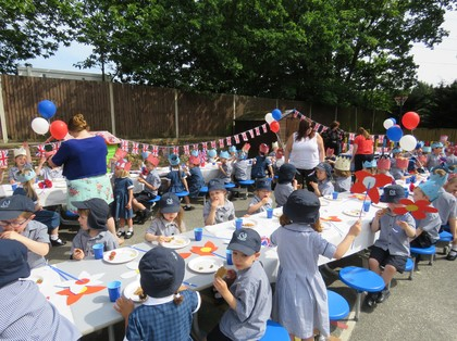 Royal Wedding Pre-Prep Street Party  2018