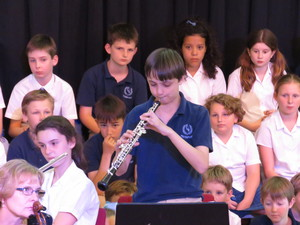 Feltonfleet jazz night oboe solo