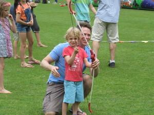 Summer fayre 2018 archery fun