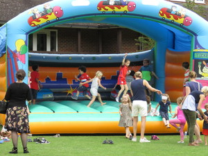 Summer fayre 2018 inflatable fun 2
