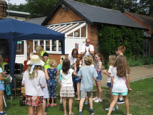 Summer fayre 2018 prize time