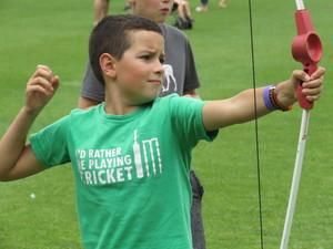 Summer fayre 2018 serious archery