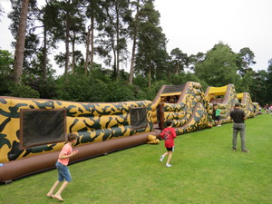 Summer fayre 2018 assault course 2