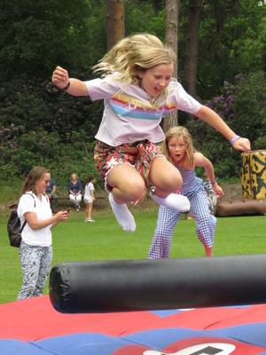 Summer fayre 2018 jumping 2